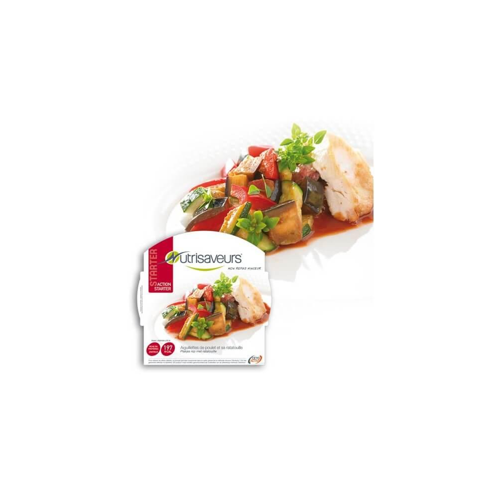 Piatto Proteico Filetto di pollo con ratatouille Nutrisaveurs