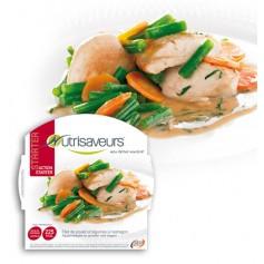 Filetti di Pollo e verdure con estragone Nutrisaveurs