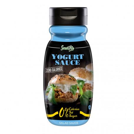 Salsa Yogurt Zero Calorie Servivita Bottiglia 320ml