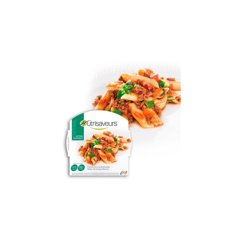 Piatto proteico Penne alla bolognese Nutrisaveurs