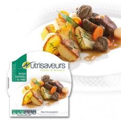 Piatto proteico Spezzatino di Manzo Nutrisaveurs