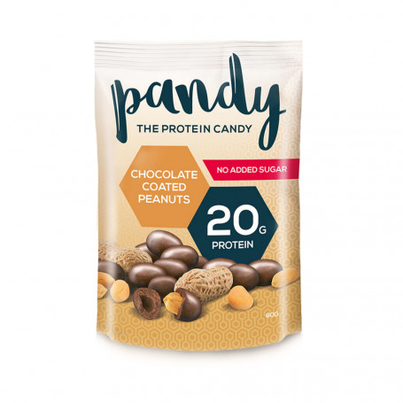 Pandy Protein Cacahuètes au chocolat protéinées Sachet 80g