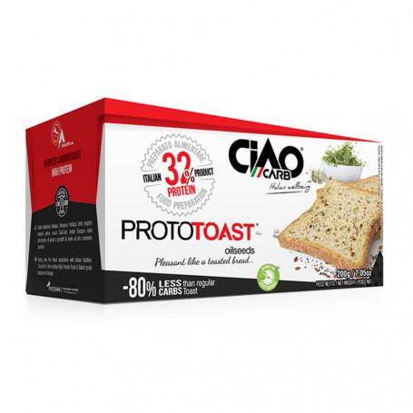 Ciao Carb ProtoToast Stage 1 -Toast Natures protéinés Boîte de 4