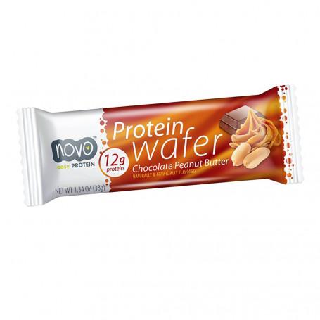 Wafer proteico al Cioccolato burro di arachidi NOVO Nutrition