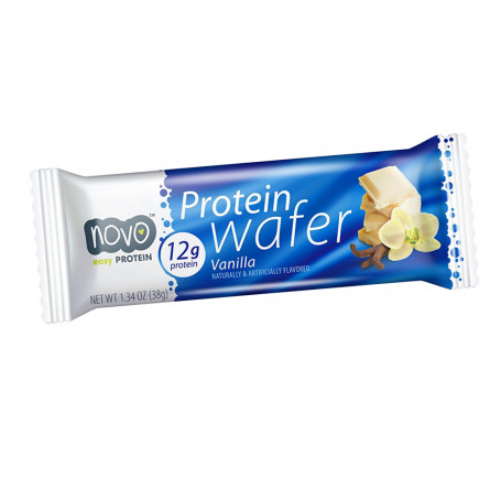 Novo Nutrition Wafer proteico Vaniglia all'unità
