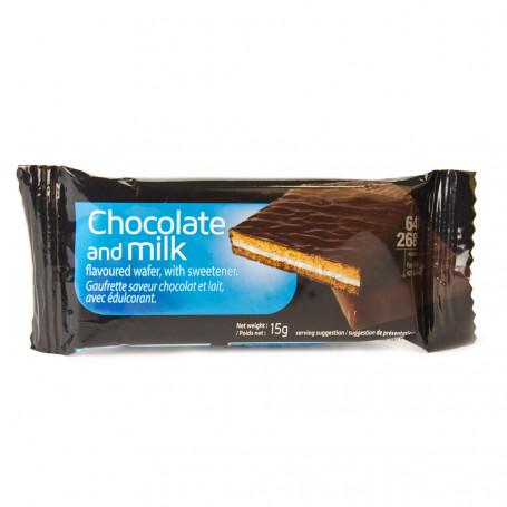 Wafer low carb cioccolato al latte all'unità