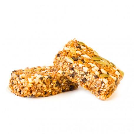 Barrette sostituto del pasto vegetariana Mandorla e semi di zucca MinceurD